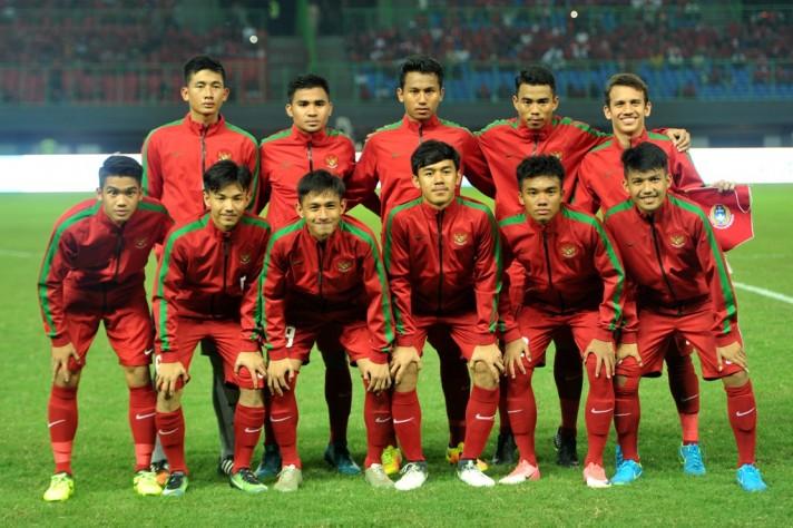 Timnas Indonesia U-19 (ANTARA FOTO/ SIGID KURNIAWAN)
