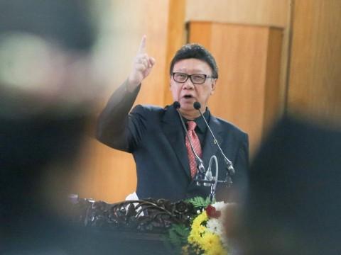 Menteri Dalam Negeri (Mendagri) Tjahjo Kumolo. Foto: Antara/Nova