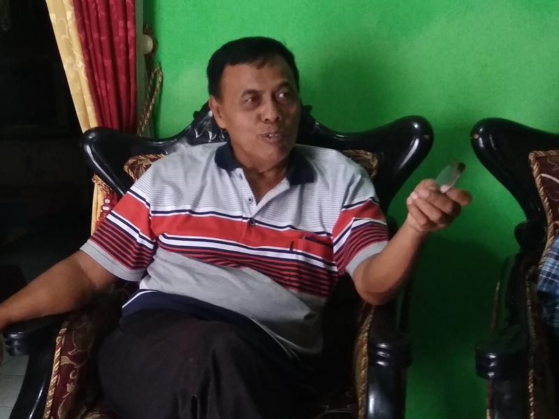 Ketua RT 5 RW Bedingin Wetan, Desa Sumberadi, Kecamatan Mlati, Kabupaten Sleman, Sumarjono. Medcom.id/Ahmad Mustaqim