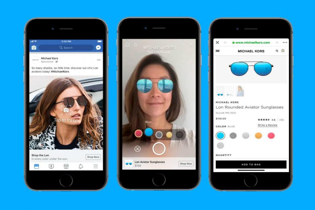 Facebook mengumumkan fitur iklan berteknologi Augmented Reality untuk aplikasi versi mobile miliknya.