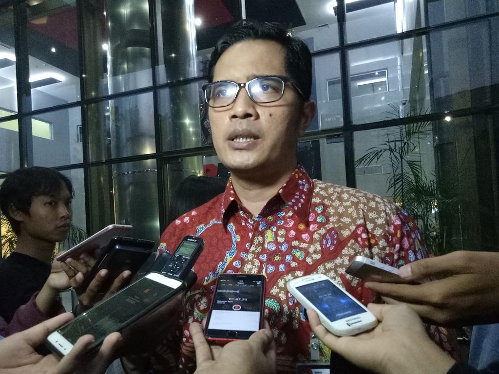KPK spokesperson Febri Diansyah (Photo:Medcom/Siti Yona Hukmana)