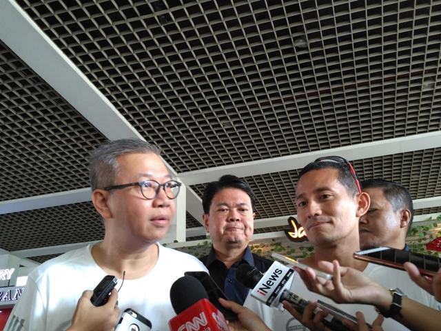 PT Transjakarta president director Budi Kaliwono. (Photo: Medcom/Nur Azizah)
