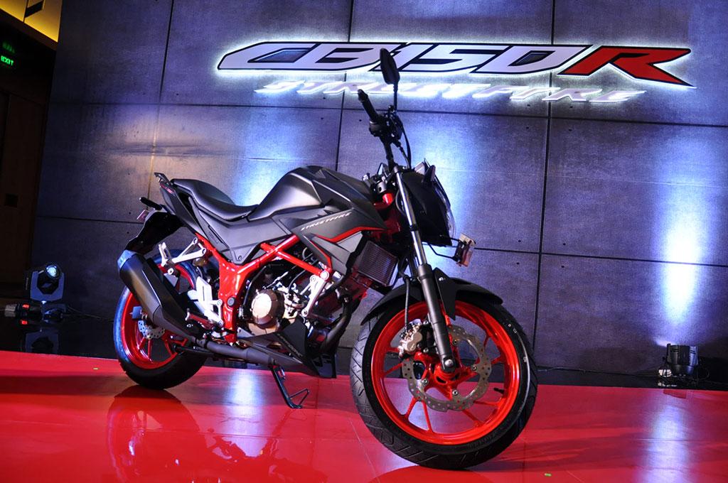 New Honda CB150R tampil dengan sejumlah perubahan minimal. Medcom.id/Ekawan Raharja