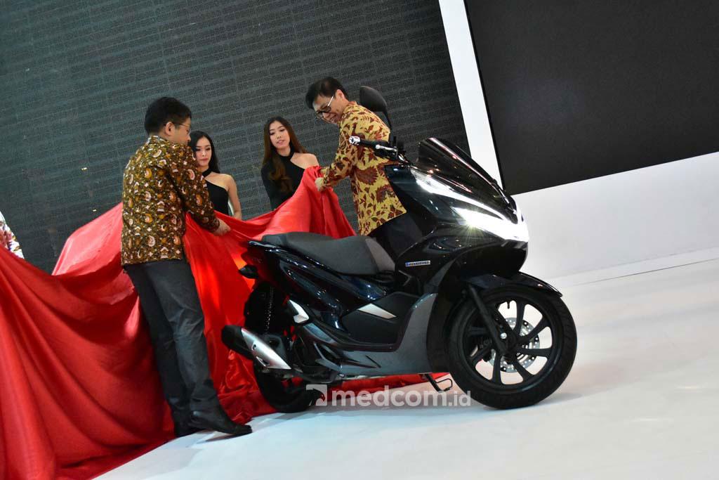 All New Honda PCX Hybrid sudah mulai dipasarkan di tanah air. Medcom.id/Ainto Harry Budiawan