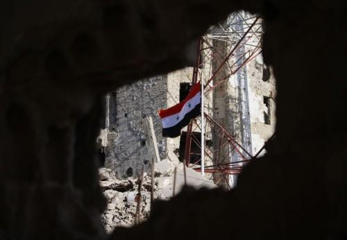 Kehancuran di Suriah akibat perang yang terjadi (Foto: AFP).