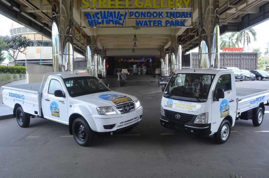 Tata Xenon HD dan Super Ace HT bakal buktikan performa sejauh 2.500 km estafet dari Aceh hingga Jakarta untuk menjelajah pasar tradisional. Tata Motors