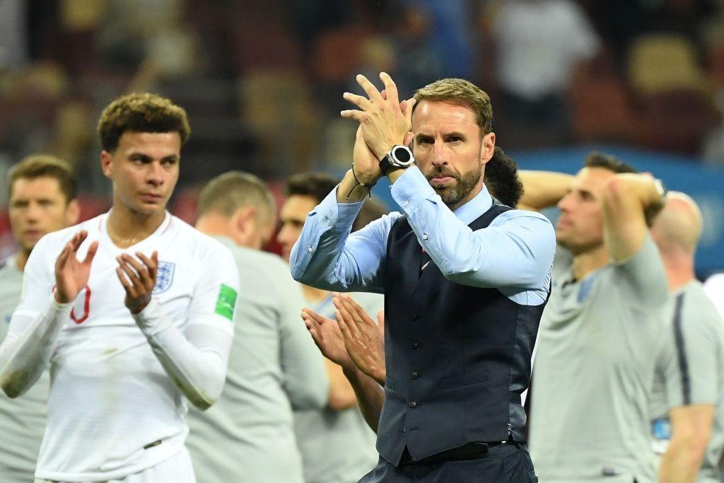 Pelatih timnas Inggris Gareth Southgate (AFP/KIRILL KUDRYAVTSEV)