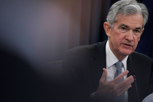 Ketua Federal Reserve AS Jerome Powell (Alex Wong/AFP)