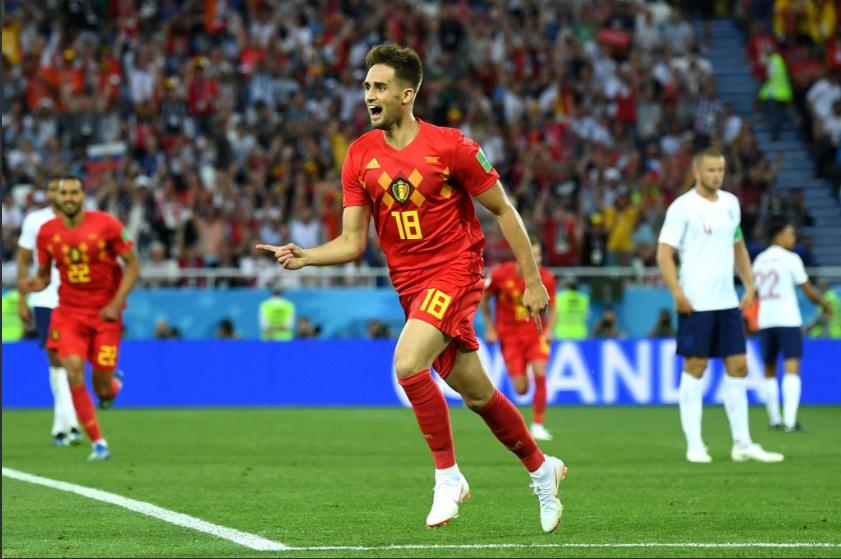 Selebrasi Adnan Januzaj usai mencetak gol tunggal atas Inggris, Akankah Terulang? (Foto: Twitter)