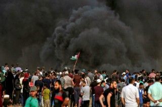 Israel Gempur Gaza usai Bentrokan Berdarah di Perbatasan