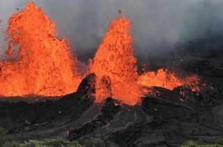 Lava Gunung Kilauea Hancurkan Sekolah dan Taman