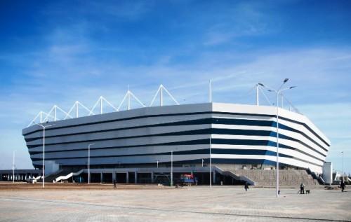 Kaliningrad adalah satu dari 10 stadion yang Rusia bangun khusus