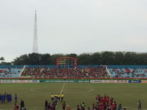 Laga Timnas U-19 vs Thailand Sepi Penonton