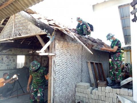 TNI AD Mulai Renovasi Rumah Lalu Zohri