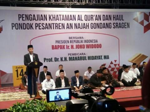 Pemerintah akan Bantu Pembangunan Ponpes An-Najah Sragen