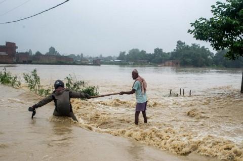 Banjir dan Longsor di Nepal Tewaskan 56 Orang