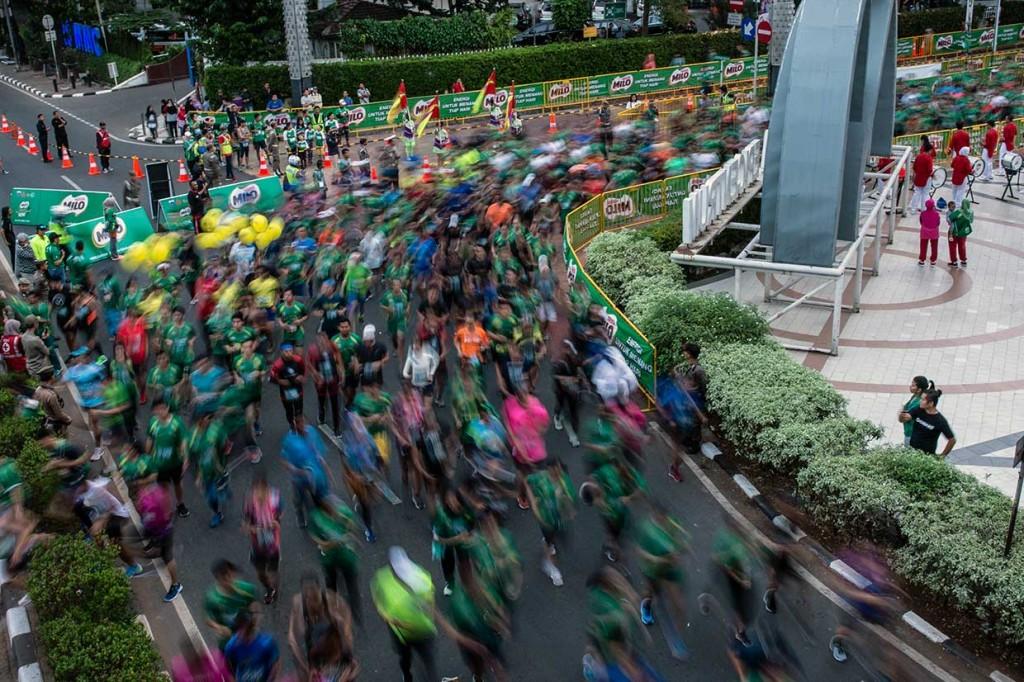 Pelari Kenya Juara Jakarta 10K