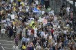 Ribuan Warga Skotlandia Protes Kedatangan Trump