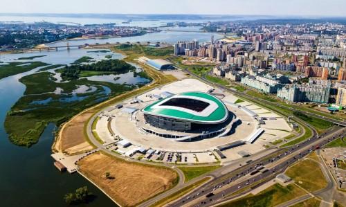 Stadion ini dirancang oleh Populous yang juga mendesain Wembley