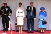 Melania Senang Bisa Minum Teh Bareng Ratu Elizabeth II