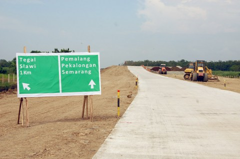 Jalan Tol Trans Jawa. Medcom/Kuntoro.