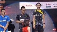 Kata Hafiz/Gloria Usai Menjuarai Thailand Open