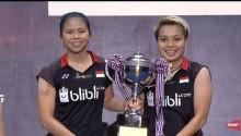 Greysia Persembahkan Gelar Thailand Open untuk Nitya