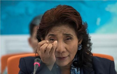 Menteri Kelautan dan Perikanan Susi Pudjiastuti (ANTARA