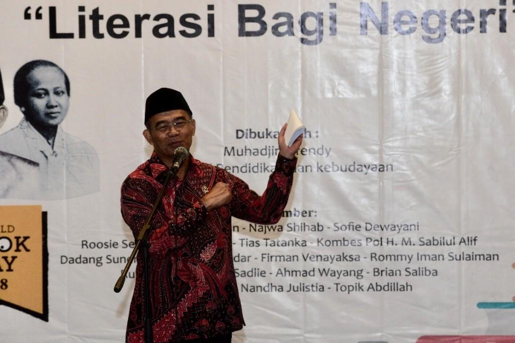 Menteri Pendidikan dan Kebudayaan, Muhadjir Effendy, Medcom.id/Citra Larasati.
