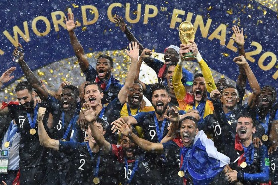 Prancis Juara Piala Dunia
