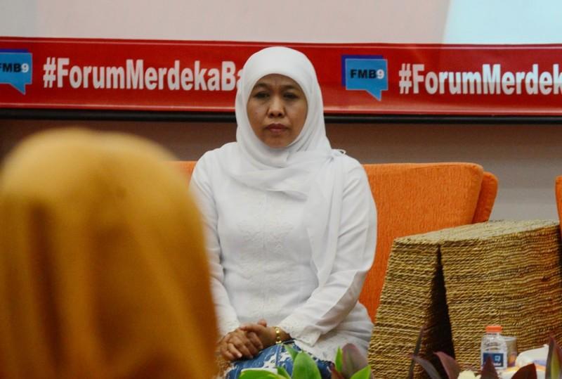 Gubernur Jawa Timur terpilih, Khofifah Indar Parawansa. (MI/Ramdani)