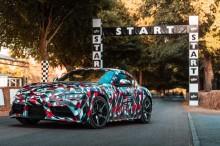 Toyota Supra Baru Bakal Turun Gunung Pakai Stiker Kamuflase