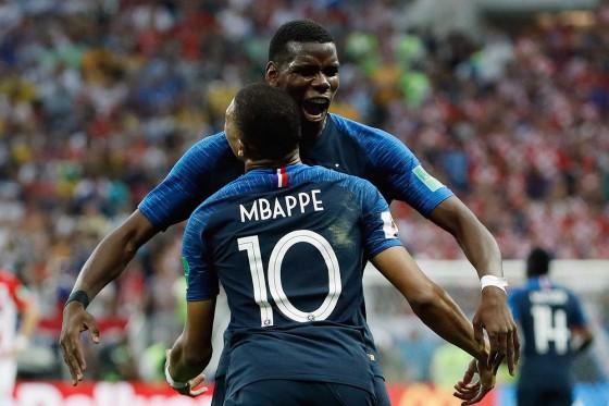Prancis Tundukkan Kroasia 4-2