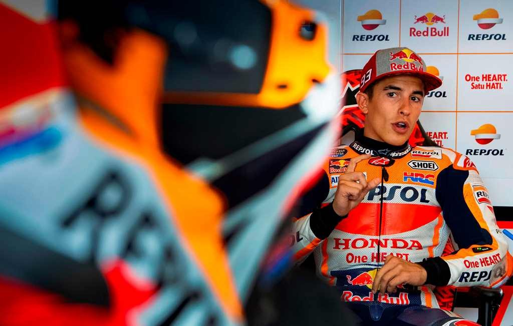 Marc Marquez. (AFP PHOTO / Robert MICHAEL)