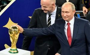 Selama Piala Dunia, Putin Sebut Rusia Diserang 25 Juta Penjahat Siber