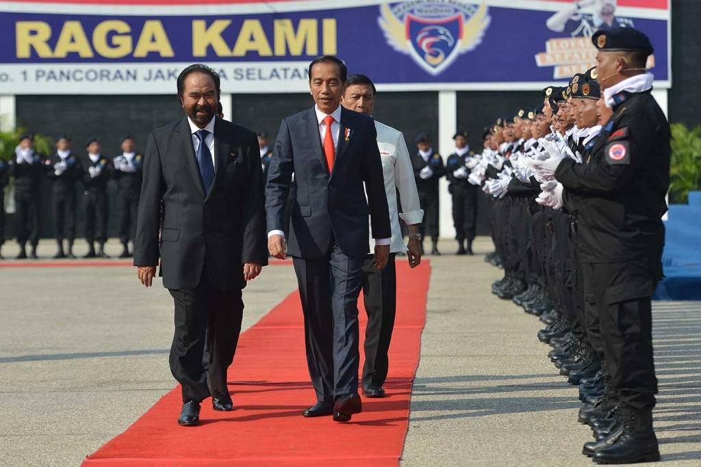 Jokowi Ingatkan Generasi Muda Tak Grogi Hadapi Tantangan