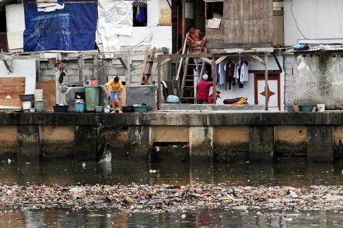 Ilustrasi kemiskinan. (FOTO: MI/Panca Syurkani)