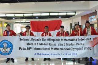 Tim Olimpiade Matematika Indonesia Tembus 10 Besar Dunia