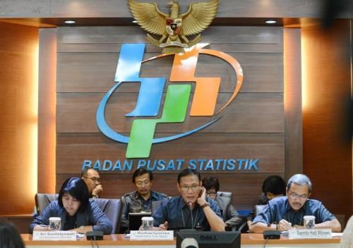 Kepala BPS Kecuk Suhariyanto. MI/MOHAMAD IRFAN.