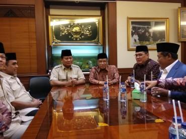 Prabowo Berkunjung ke PBNU