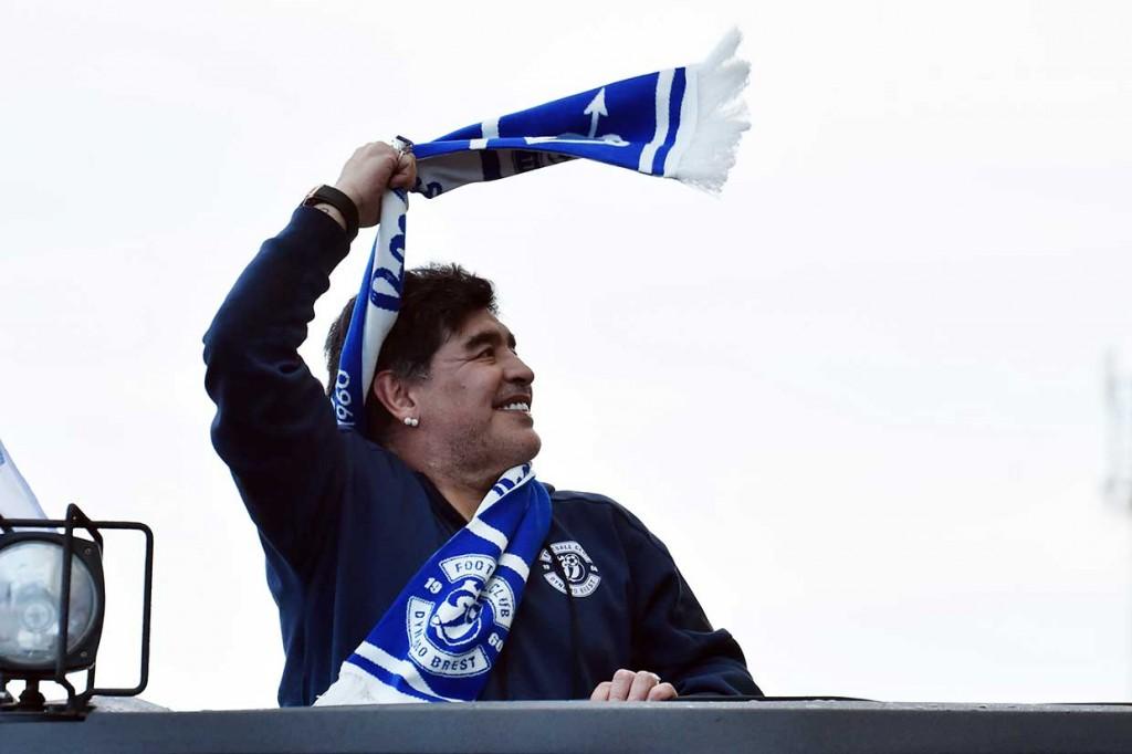 Maradona Jadi Bos Klub Belarusia
