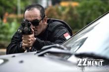 Syuting Film 22 Menit Gunakan Senjata Asli