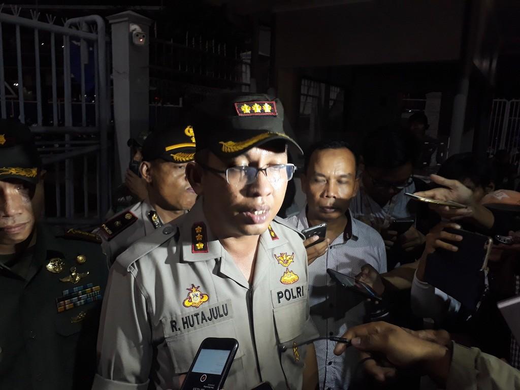 Kapolres Metro Jakarta Pusat, Kombes Roma Hutajulu - Medcom.id/ M Sholahadhin Azhar.