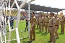 Jelang Asian Games, Renovasi Stadion Si Jalak Harupat Capai 99 Persen