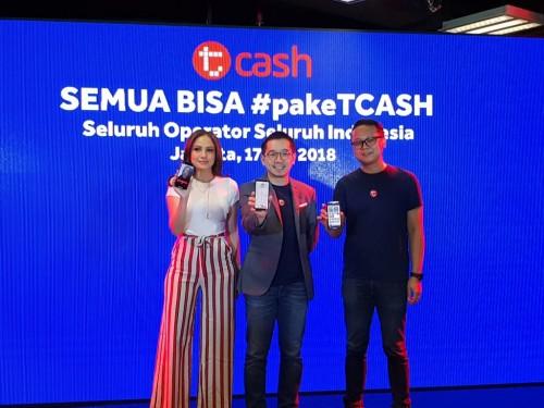 T-Cash mengumumkan bahwa layanannya sudah bisa digunakan