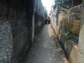 Gang Swadaya II, Cimanggis, Depok, Jabar, lokasi pelecehan.