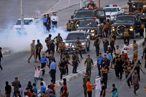 Tiga Orang Tewas dalam Demonstrasi Pengangguran di Irak