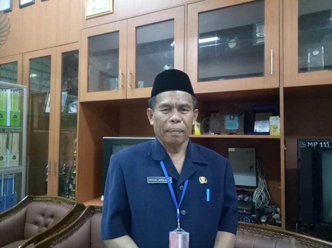 Kepala Sekolah SMPN 111 Mas'ud Jamaluddin, Medcom.id/Intan Yunelia