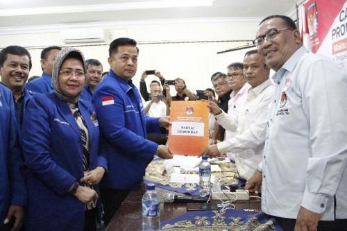 Partai Demokrat Sumut mendaftarkan sejumlah bacaleg ke KPU Sumut