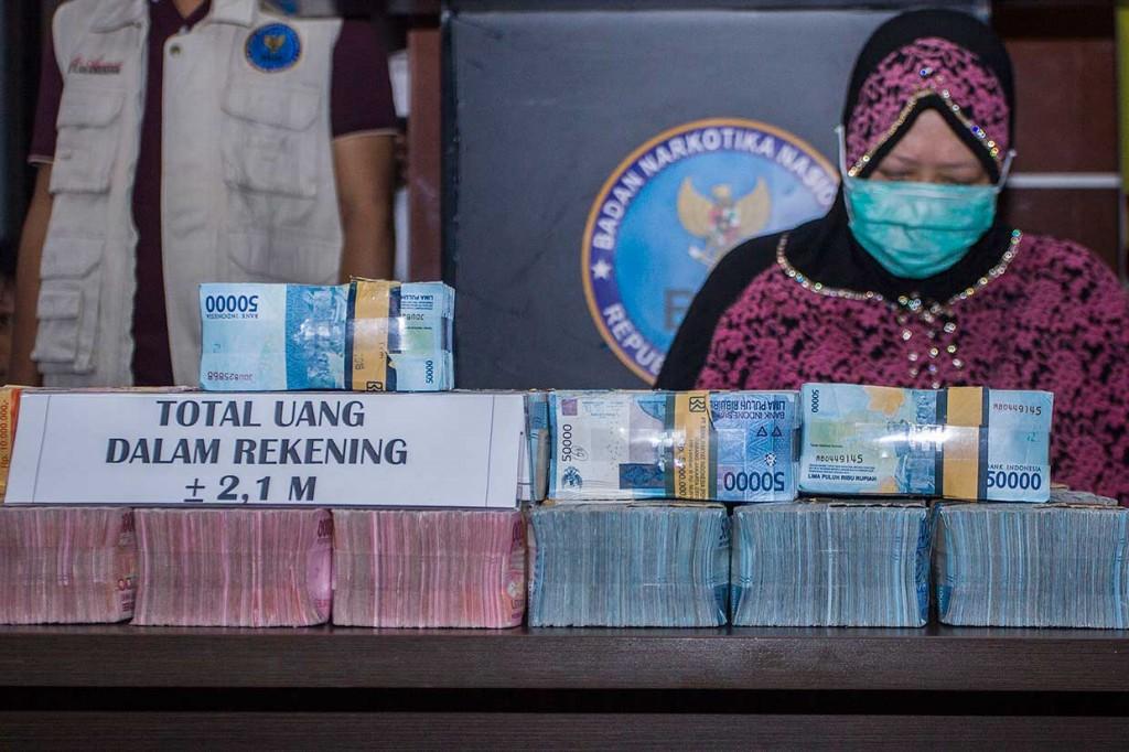 BNN Ungkap Kasus TPPU Narkotika